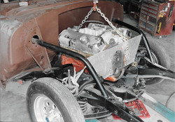 1955 Chevy Nomad Dragster