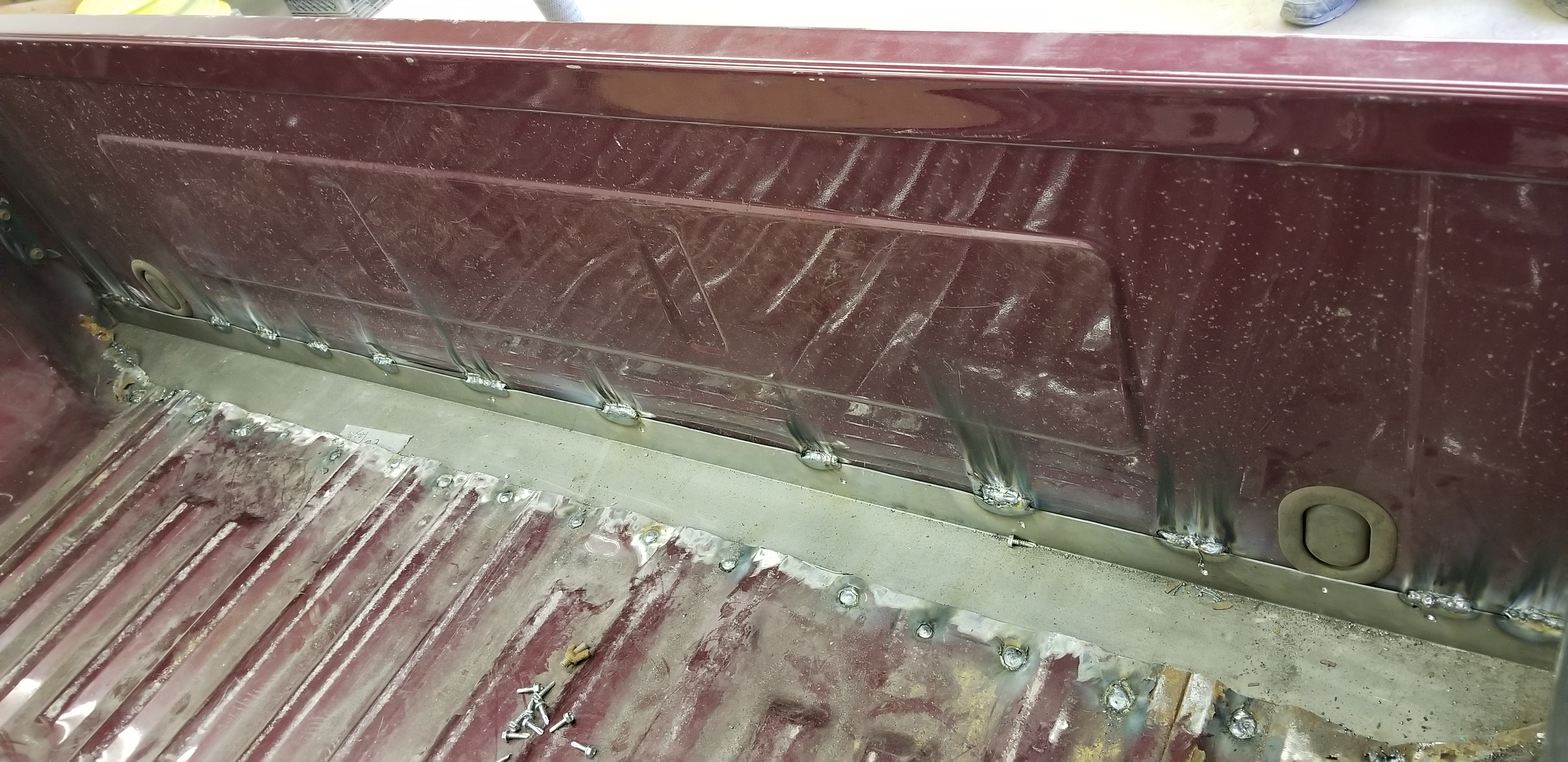2005 Ford bed restoration