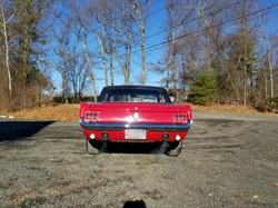 1966 Mustang Rear View