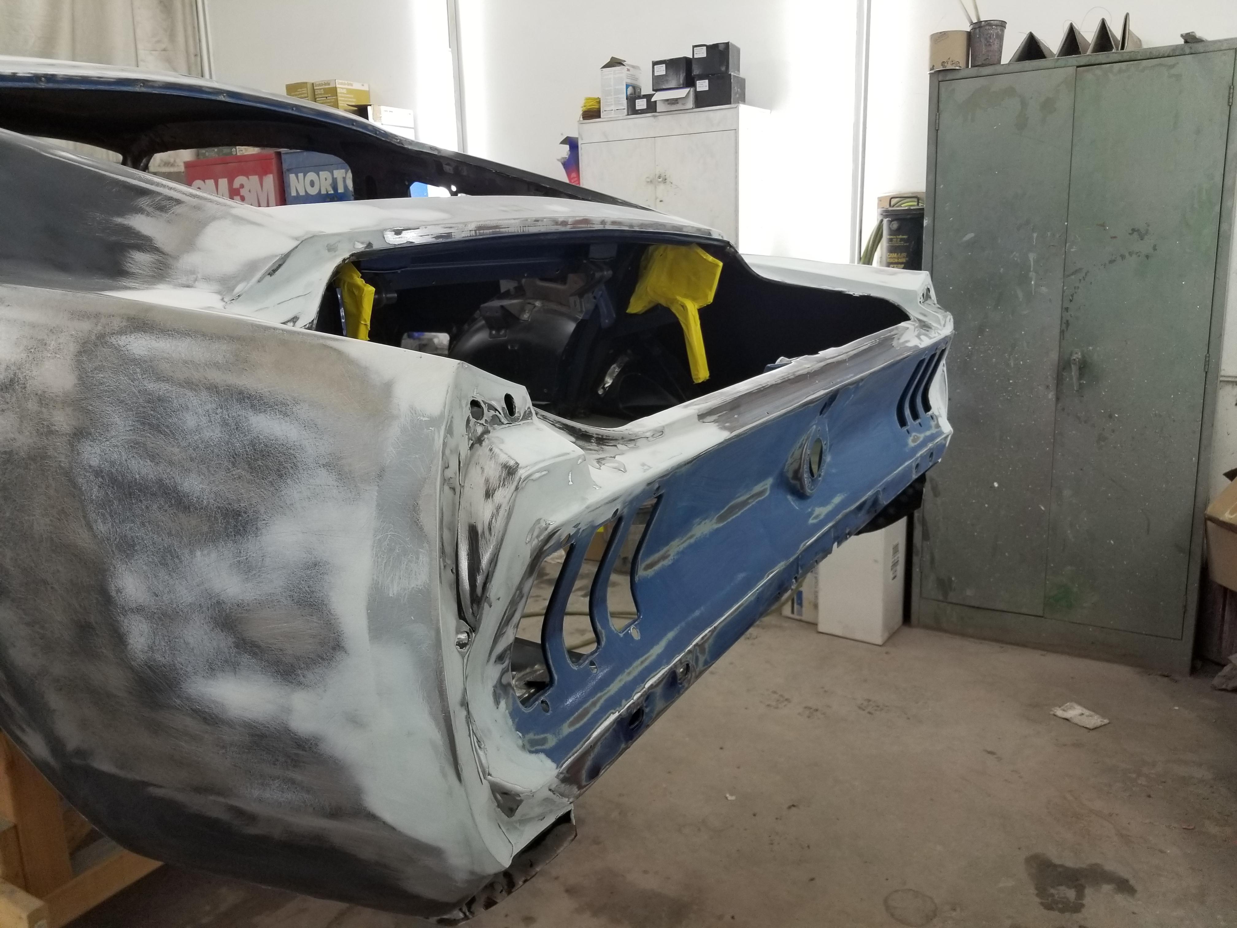67 Mustang Custom body work