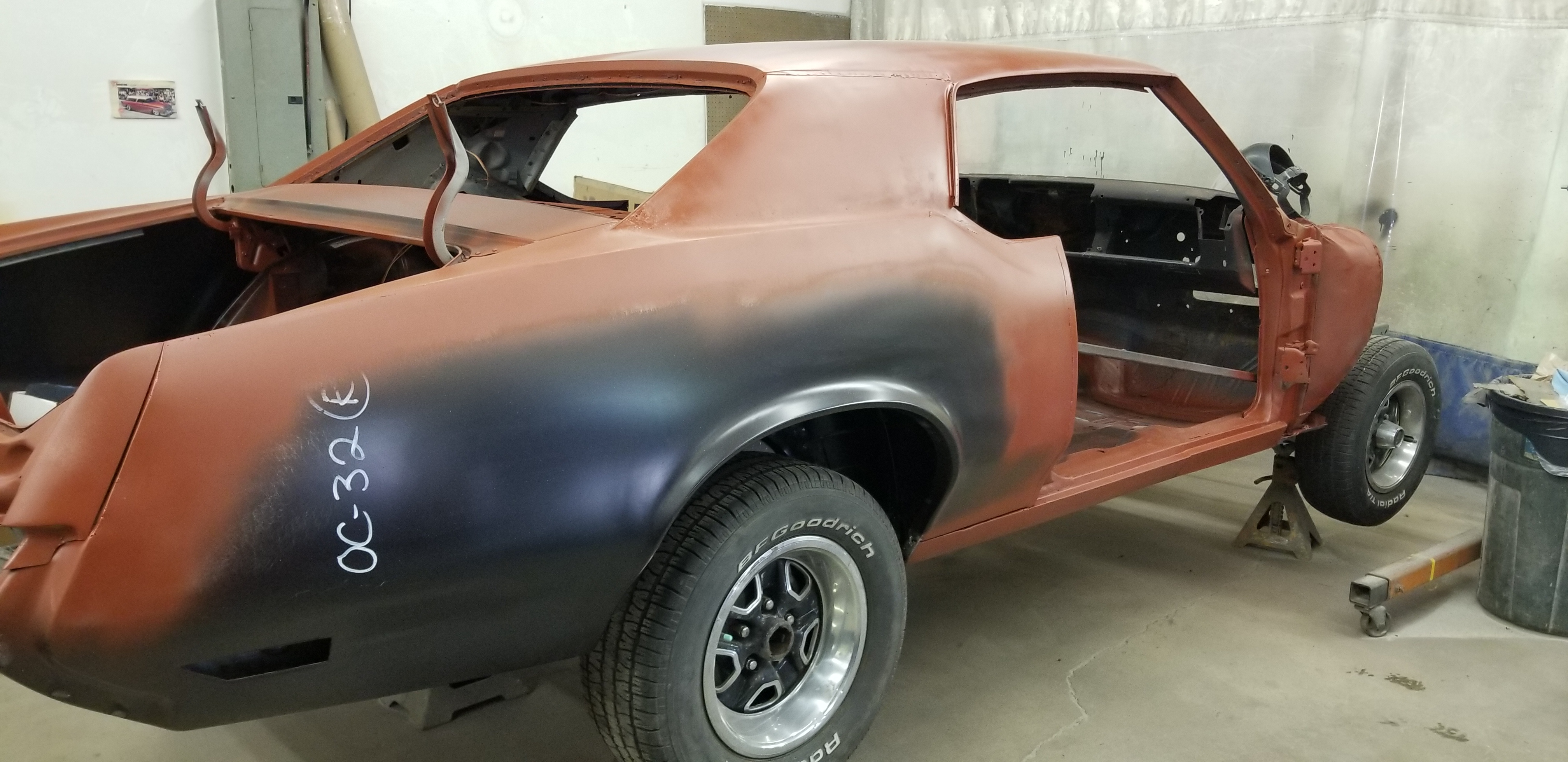 1970 Cutlass Restoration
