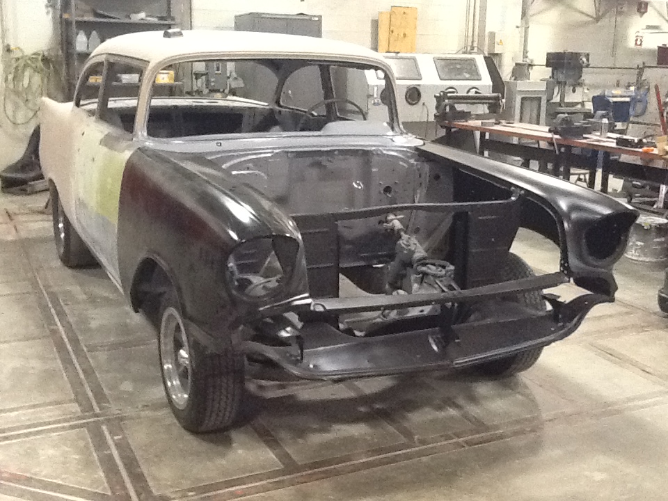 1957 Chevy Belair Gasser