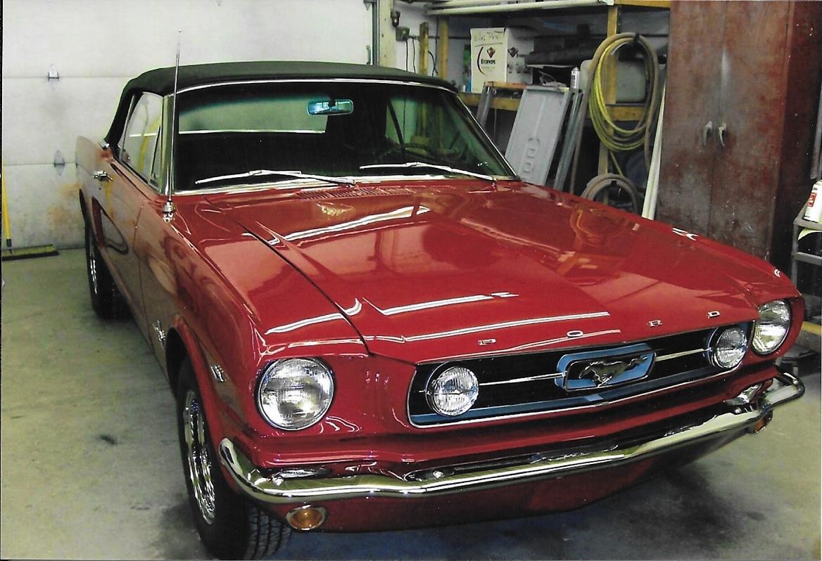 66 Mustang Restoration
