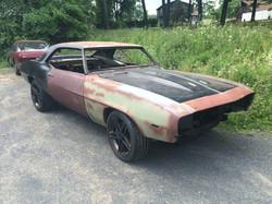 69 Camaro Restoration