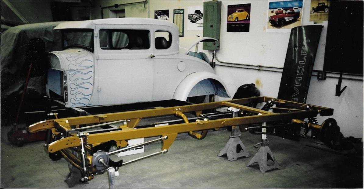 1929 Model A restoration