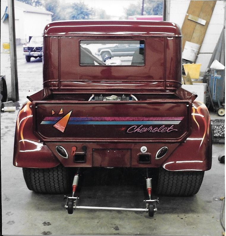 1930 pickup truck restoration