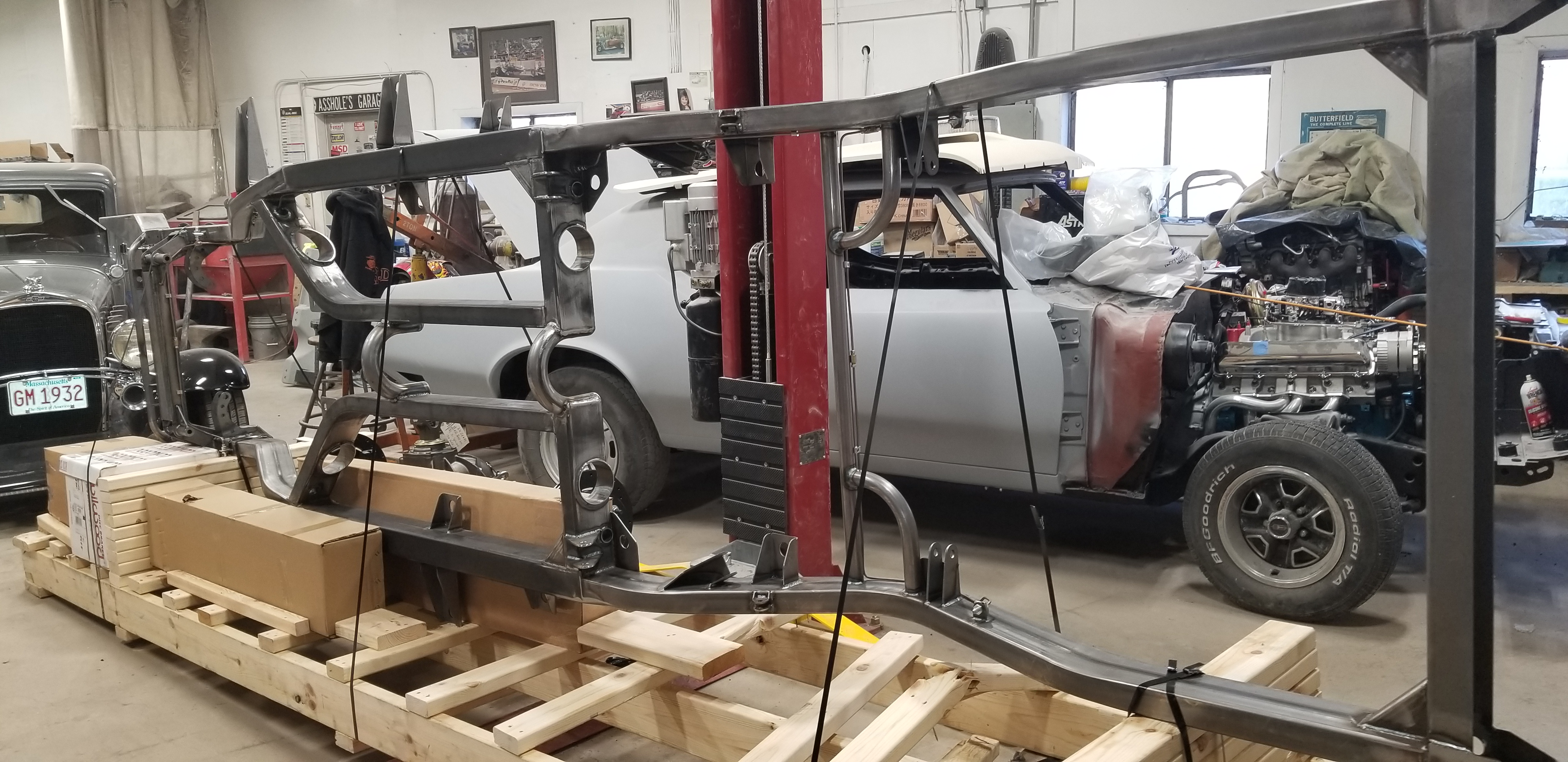 55 Nomad Chassis