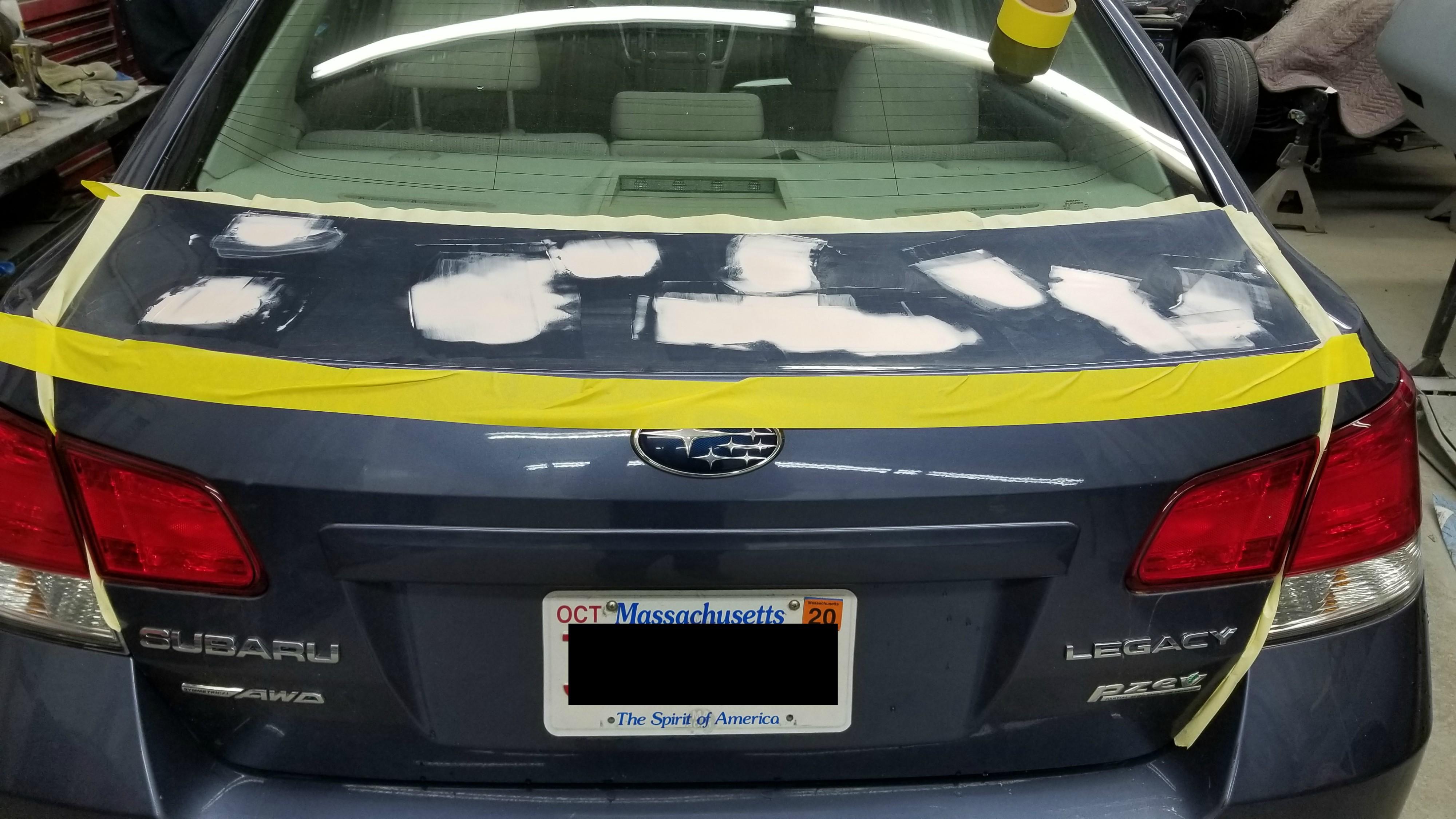 Hail Damage Repair Rick Foy's Garage