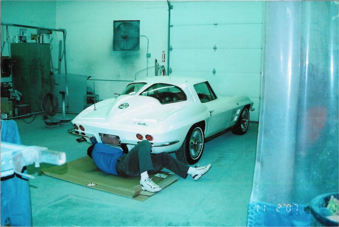Corvette Restorations at Rick Foy's