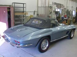67 Convertible Corvette