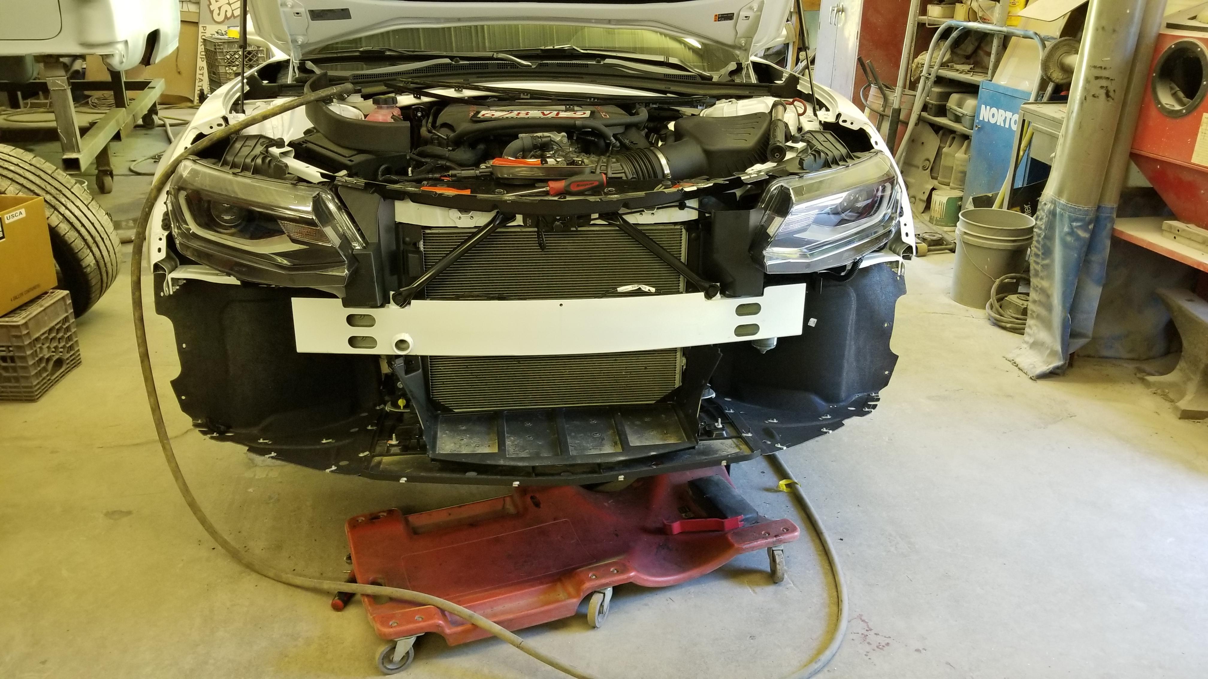 2018 Camaro Redline install