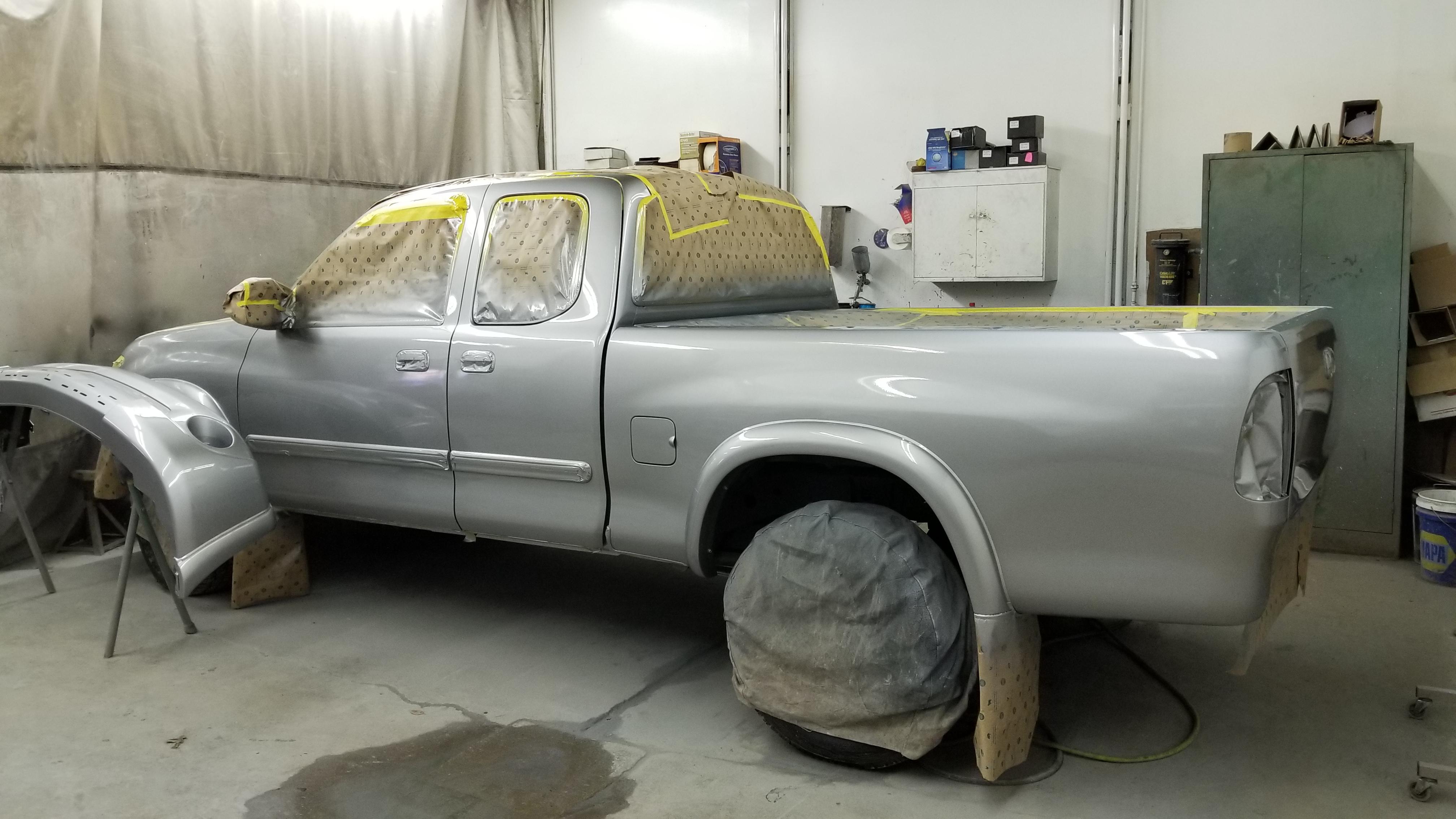 Tundra Paint job