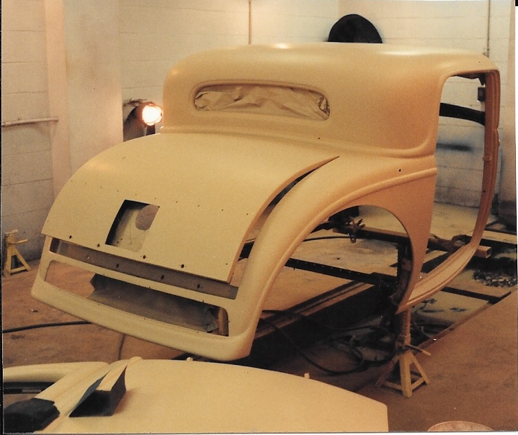 Custom 1932 Ford Coupe