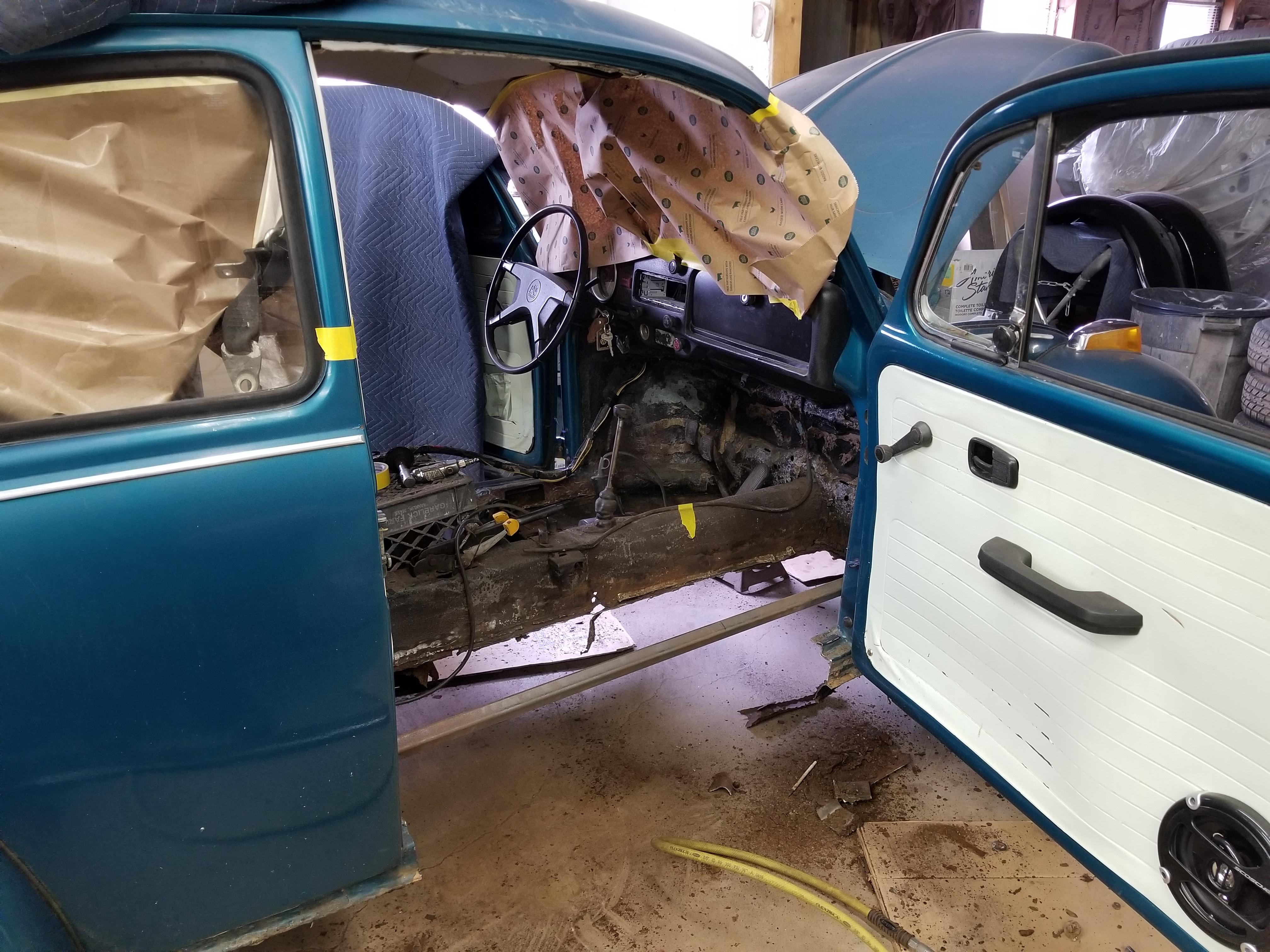 1974 Beetle Restoration