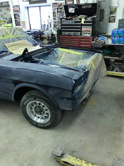 64.5 Mustang Restoration