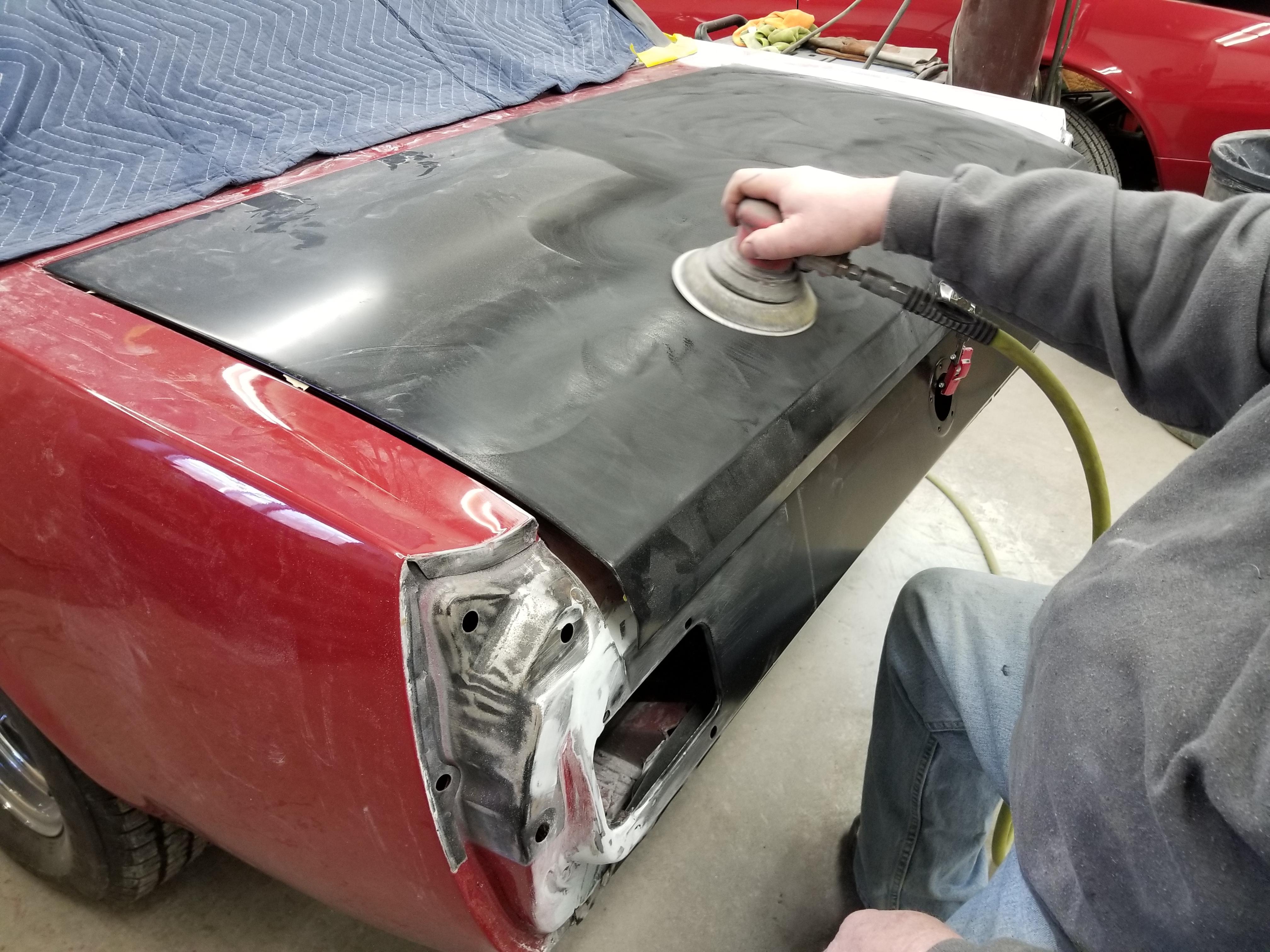 66 Mustang Repair