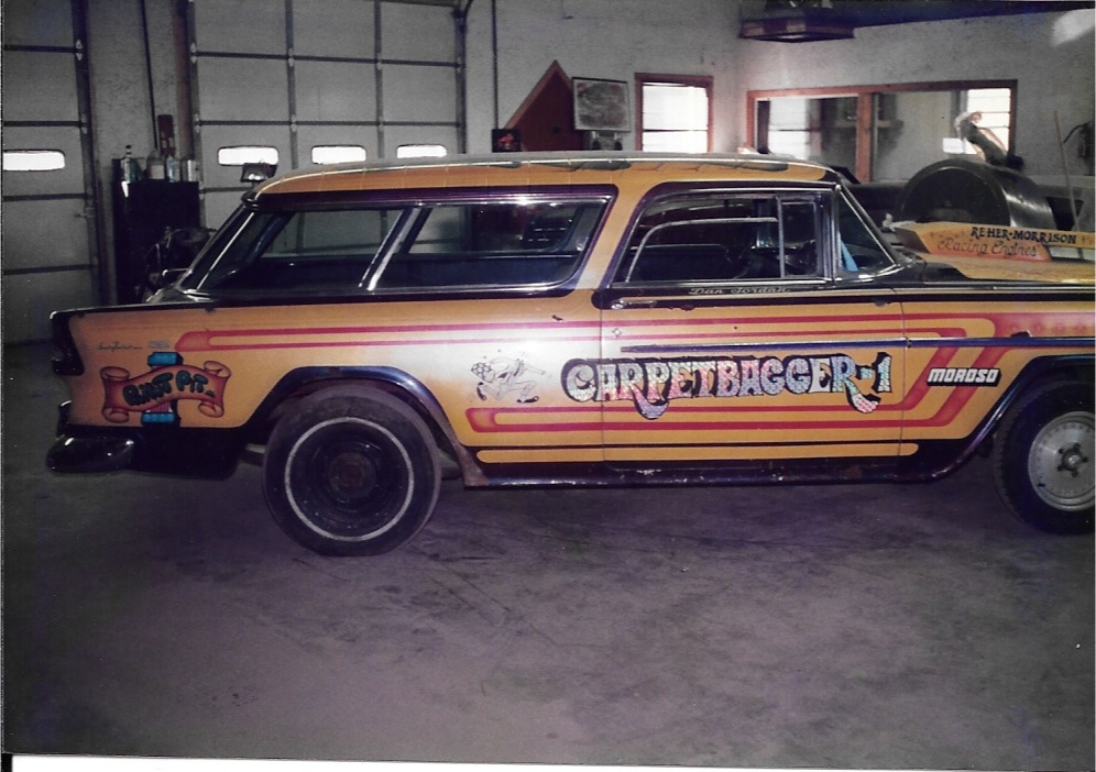 1955 Chevy Nomad Racecar