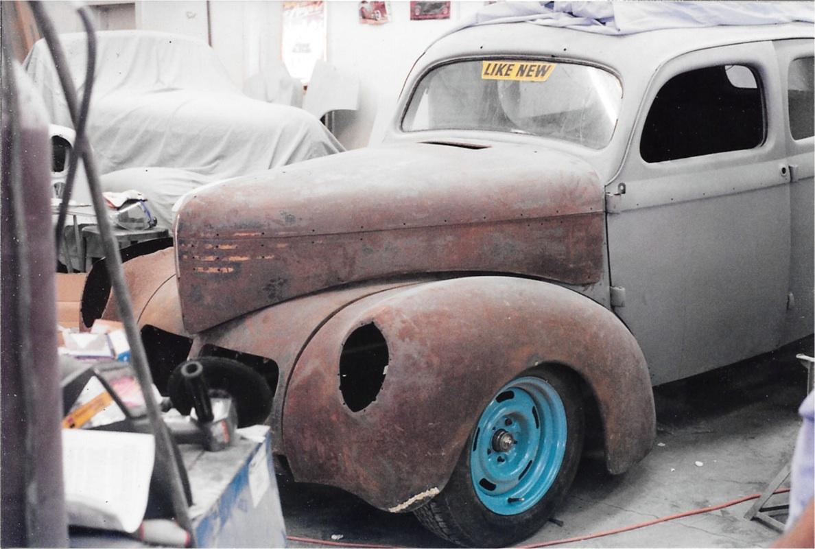 1940 willys restoration