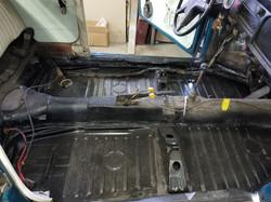 74 VW Floor Pan Restoration