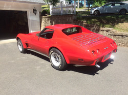 1976 Corvette Rick Foy's Garage