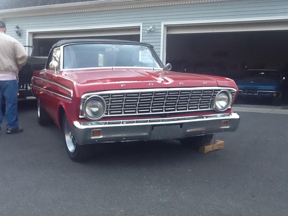 1964 Red Falcon
