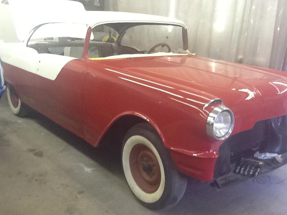 55 Pontiac Rick Foy's Garage