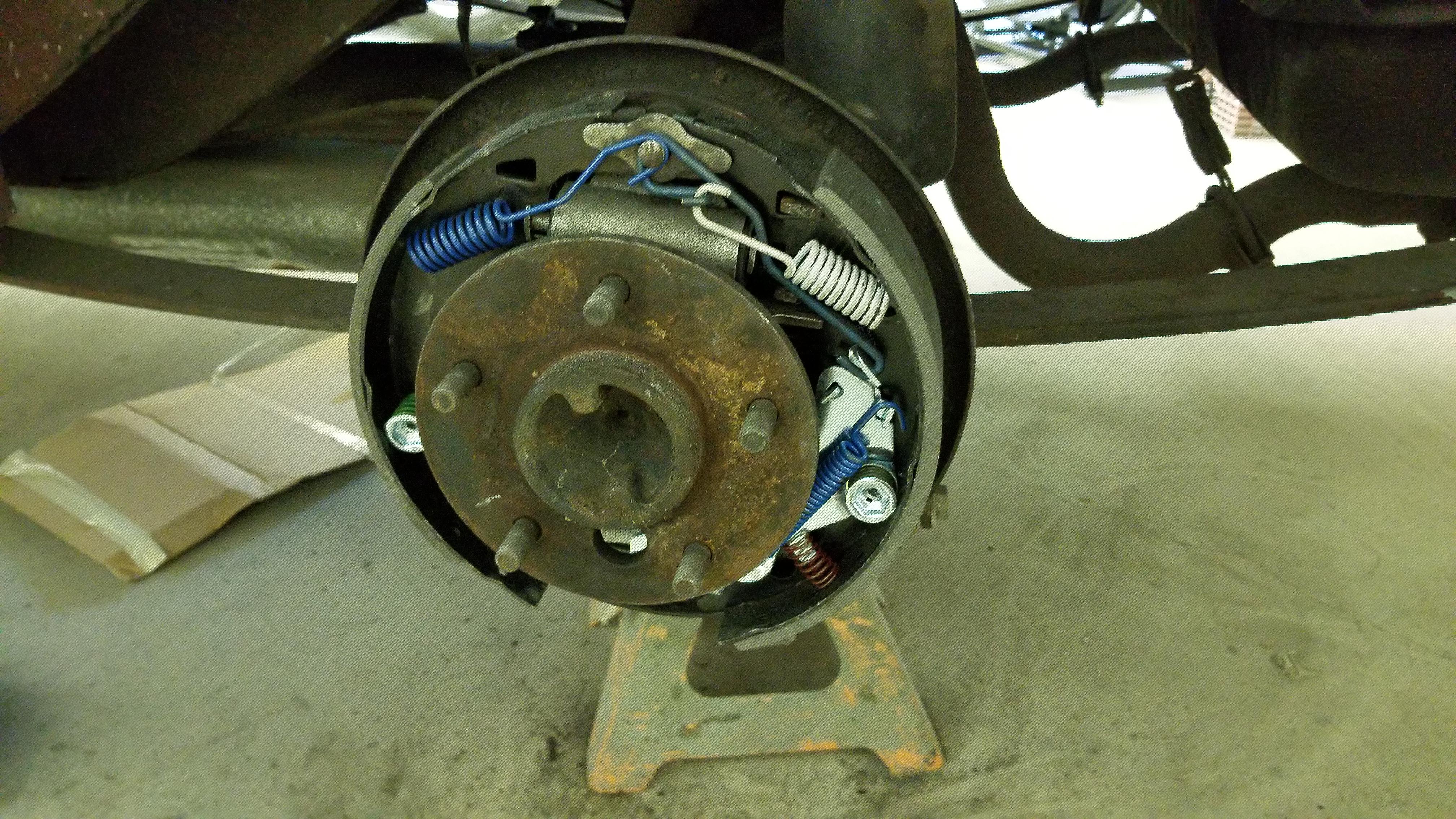 1968 Camaro new brakes