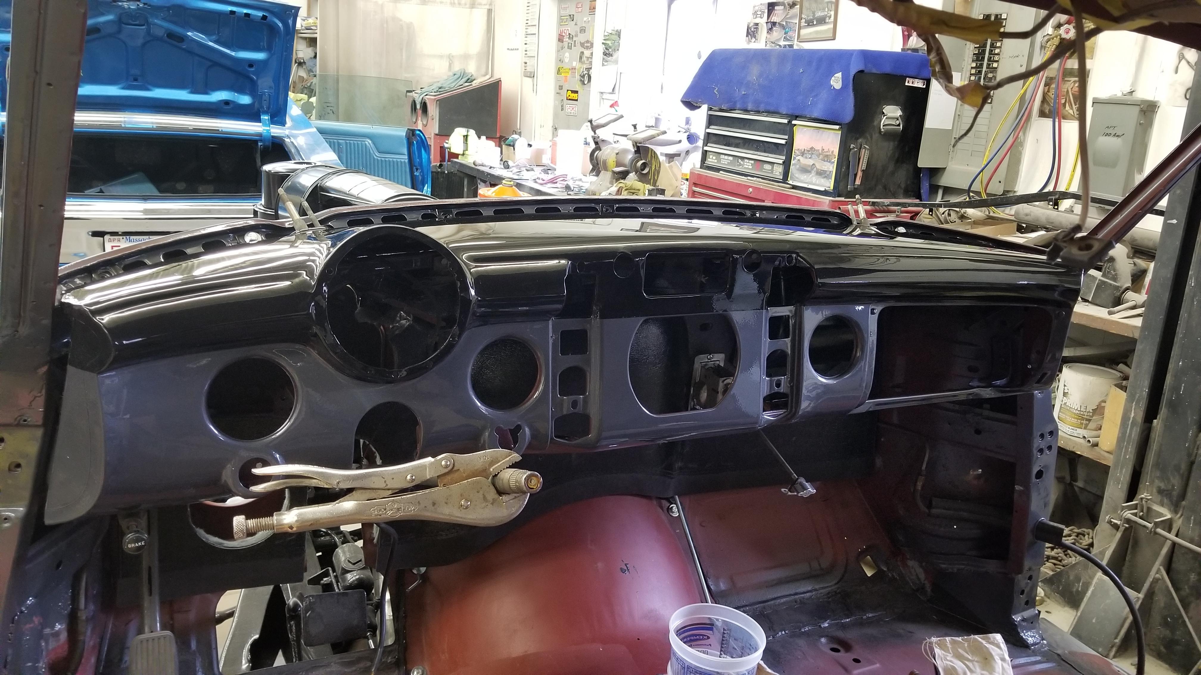 1950 Roadmaster dash