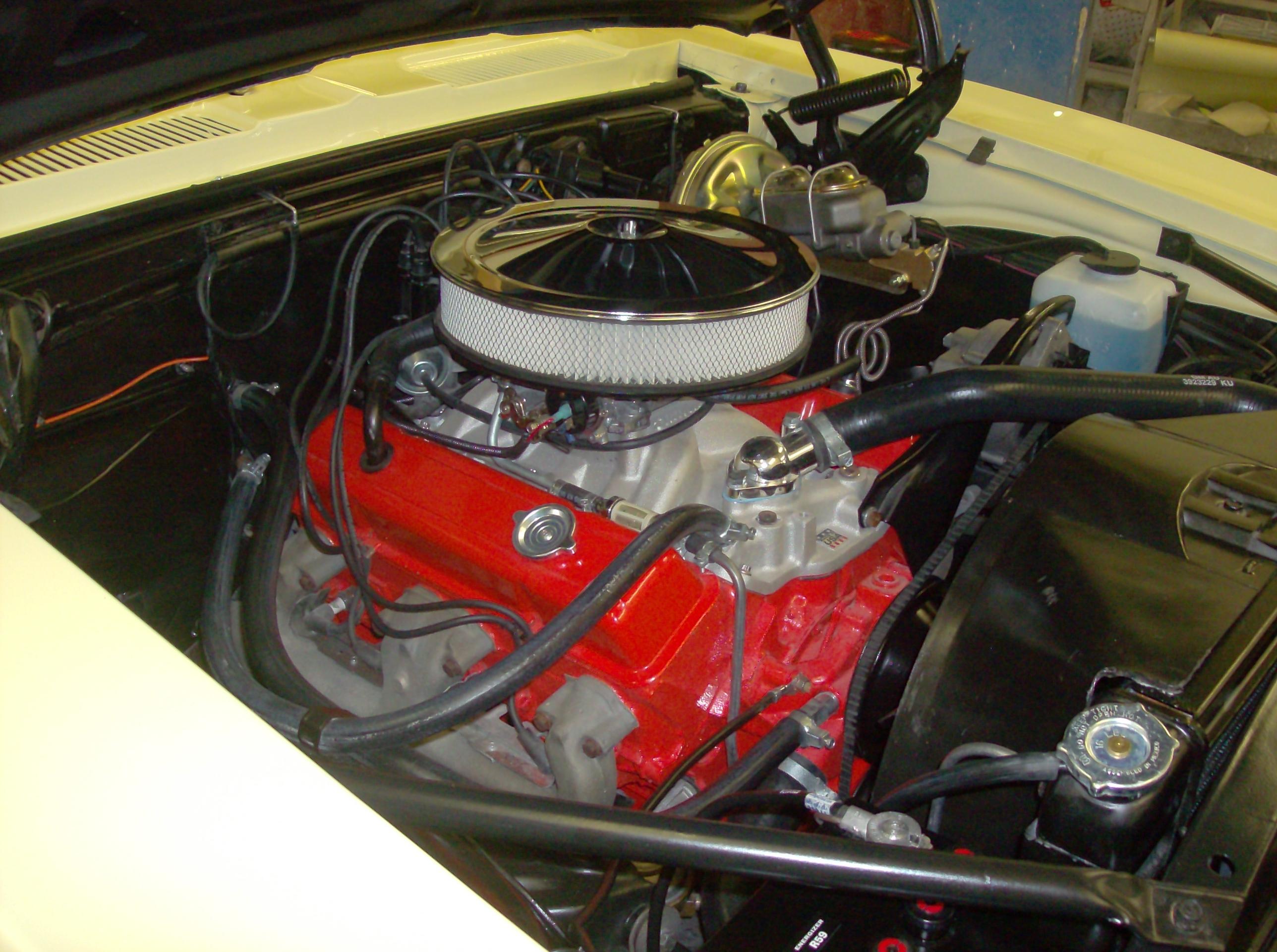 68 Super Sport Camaro