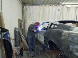 67 Mustang Rick Foy's Garage