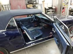 1964.5 Mustang Interior