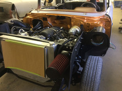 57 Chevy with LS3