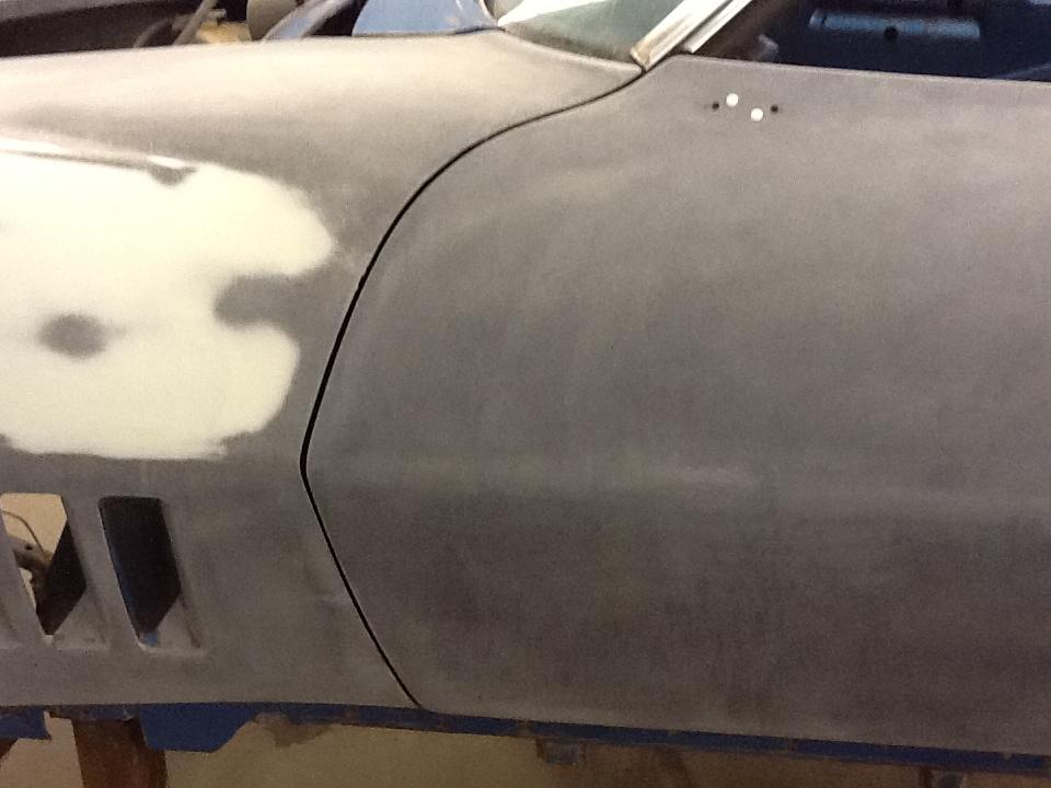1968 Vette Restoration