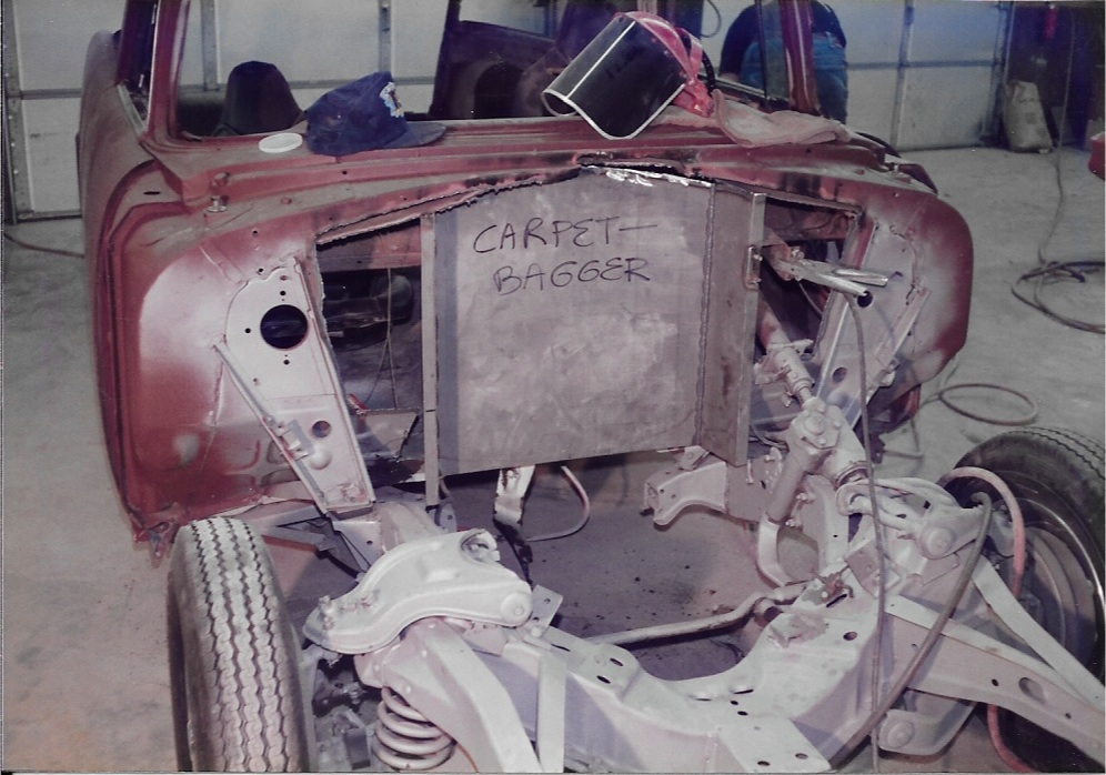 Restoring Carpetbagger dragster