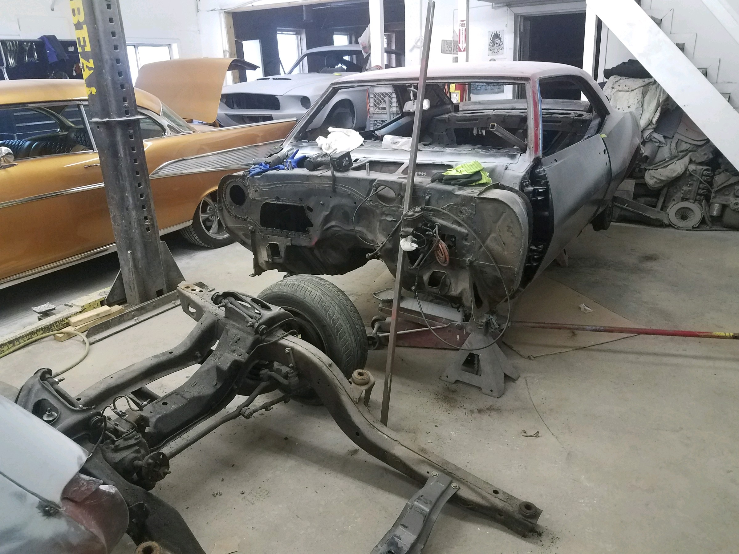 1968 Camaro RS Restoration
