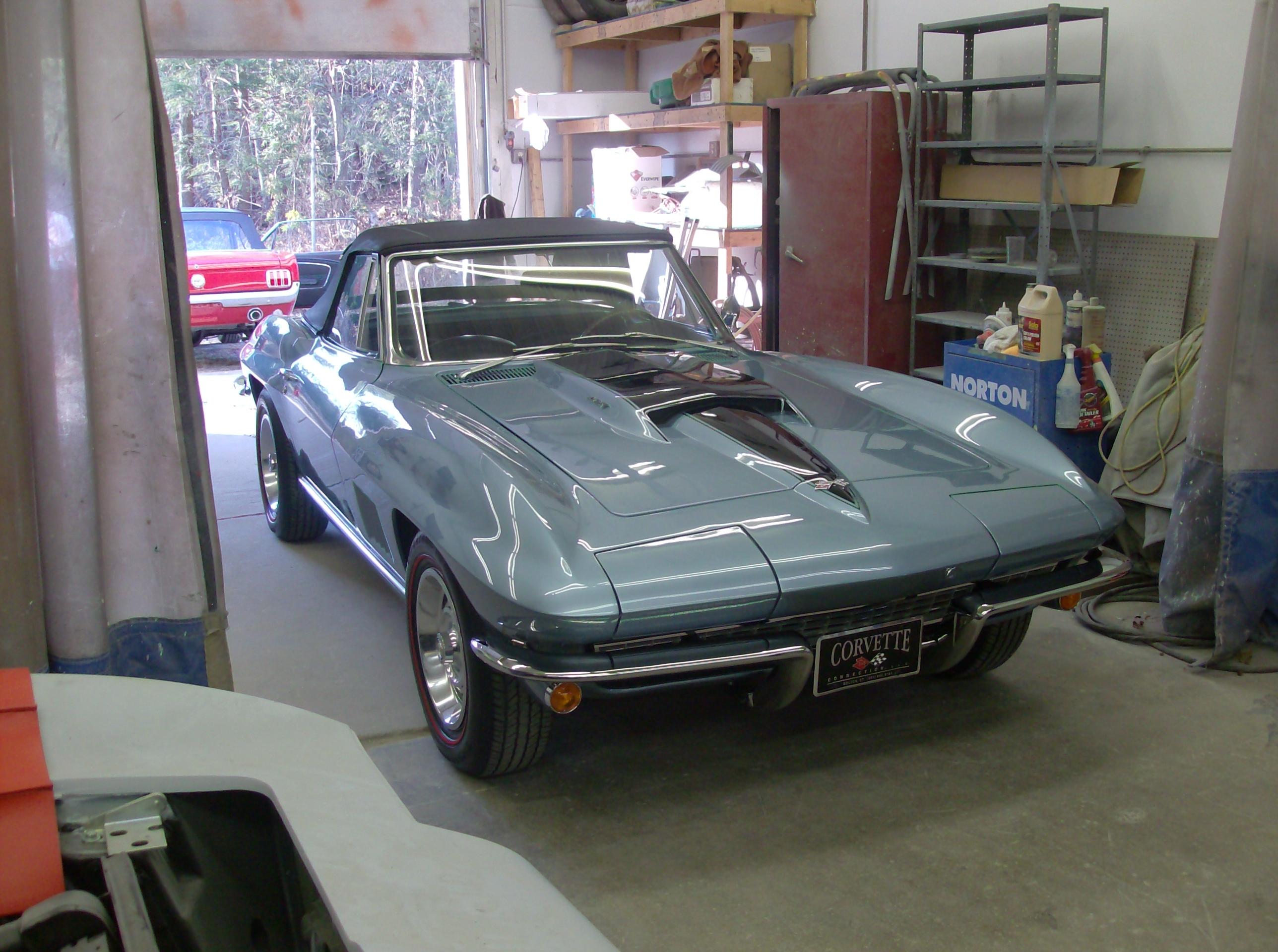 1967 Convertible Corvette