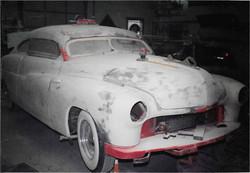 49 Mercury custom sled