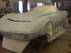 68 Corvette Rick Foy's Garage