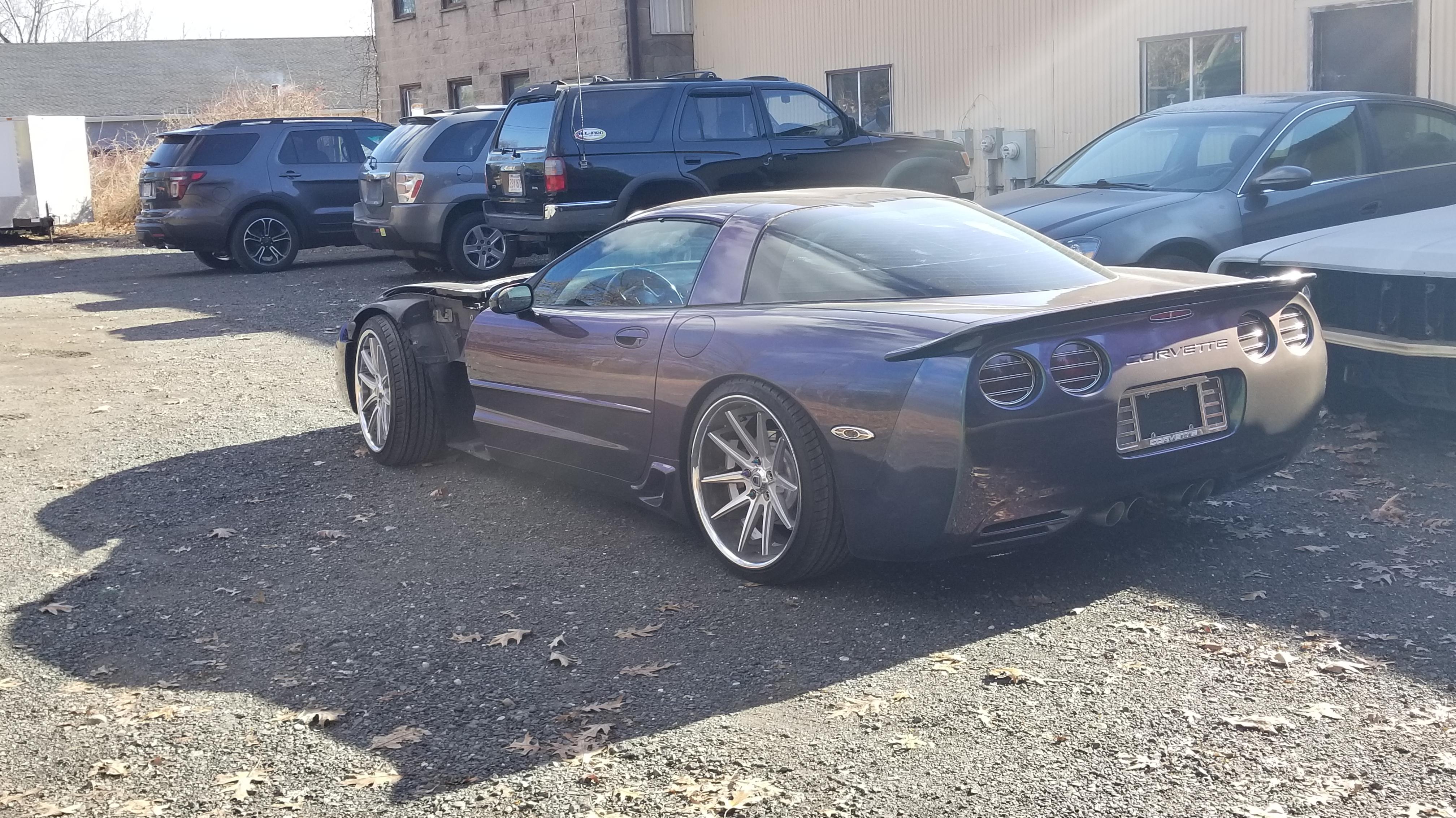 2000 Chameleon Corvette