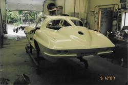 Split window corvette