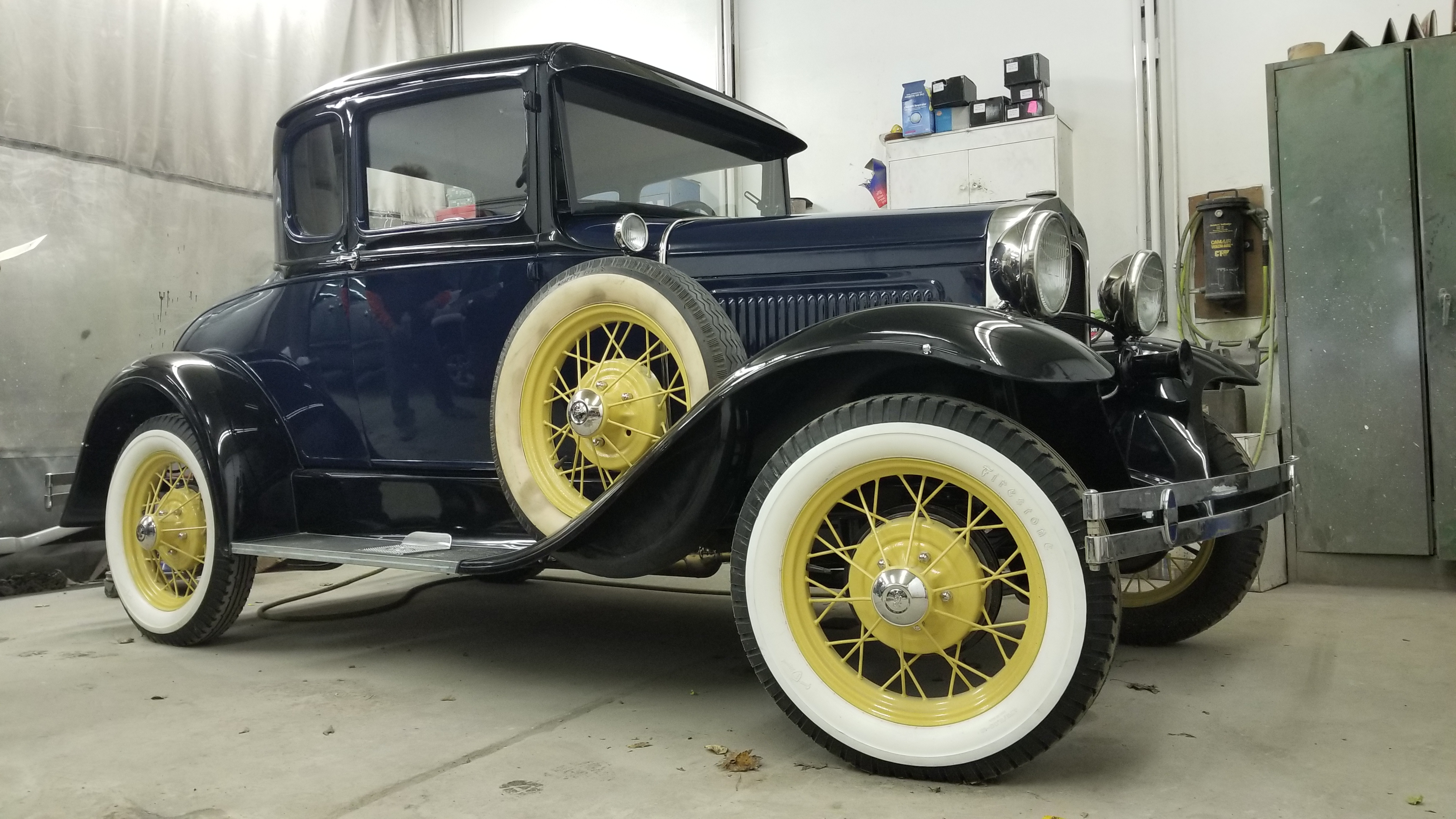 Model A Restoration Rick Foy