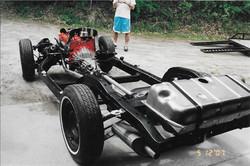 Corvette chassis