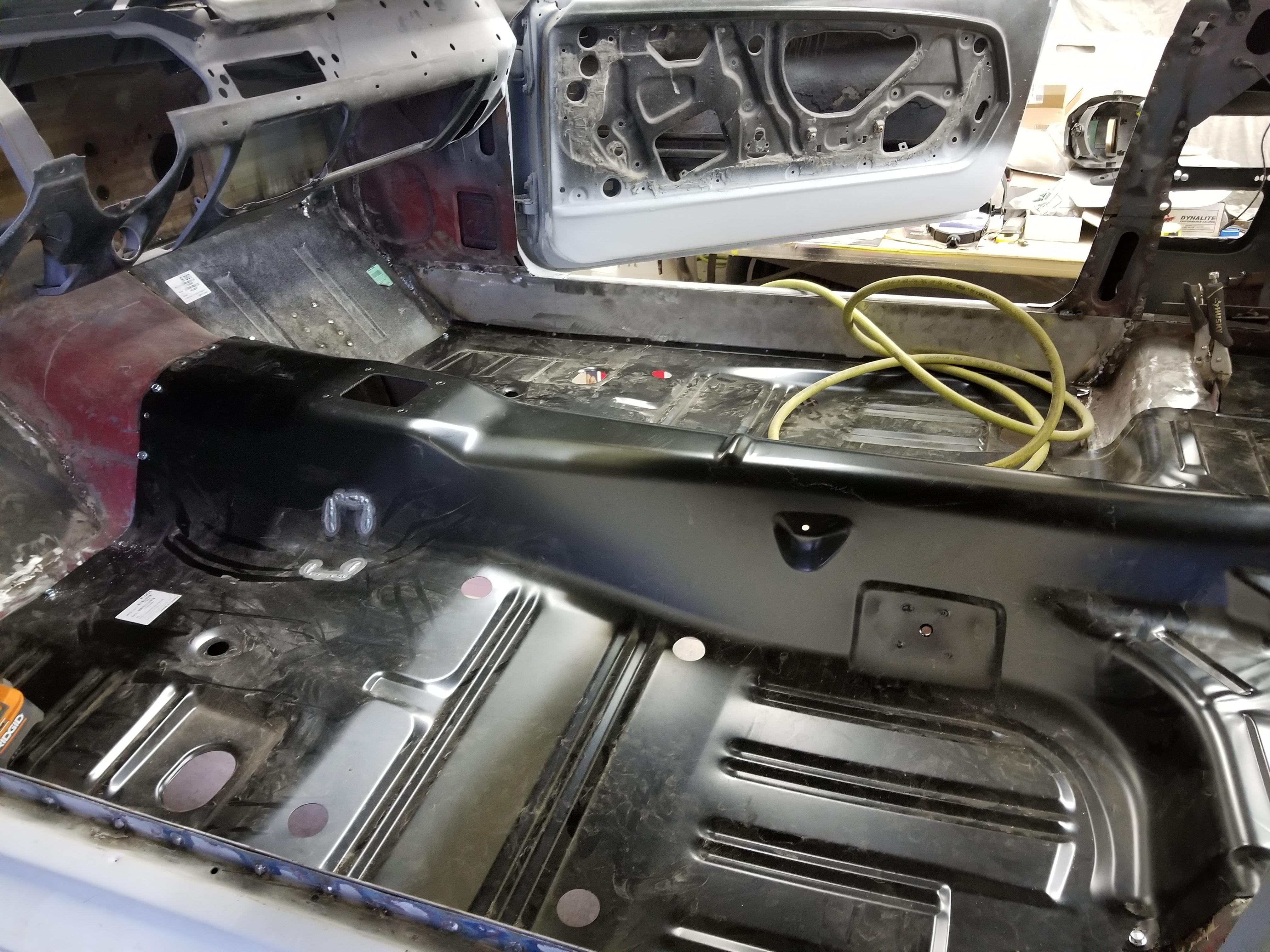 Floor Pan Installation