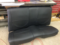 Camaro Rear Seat
