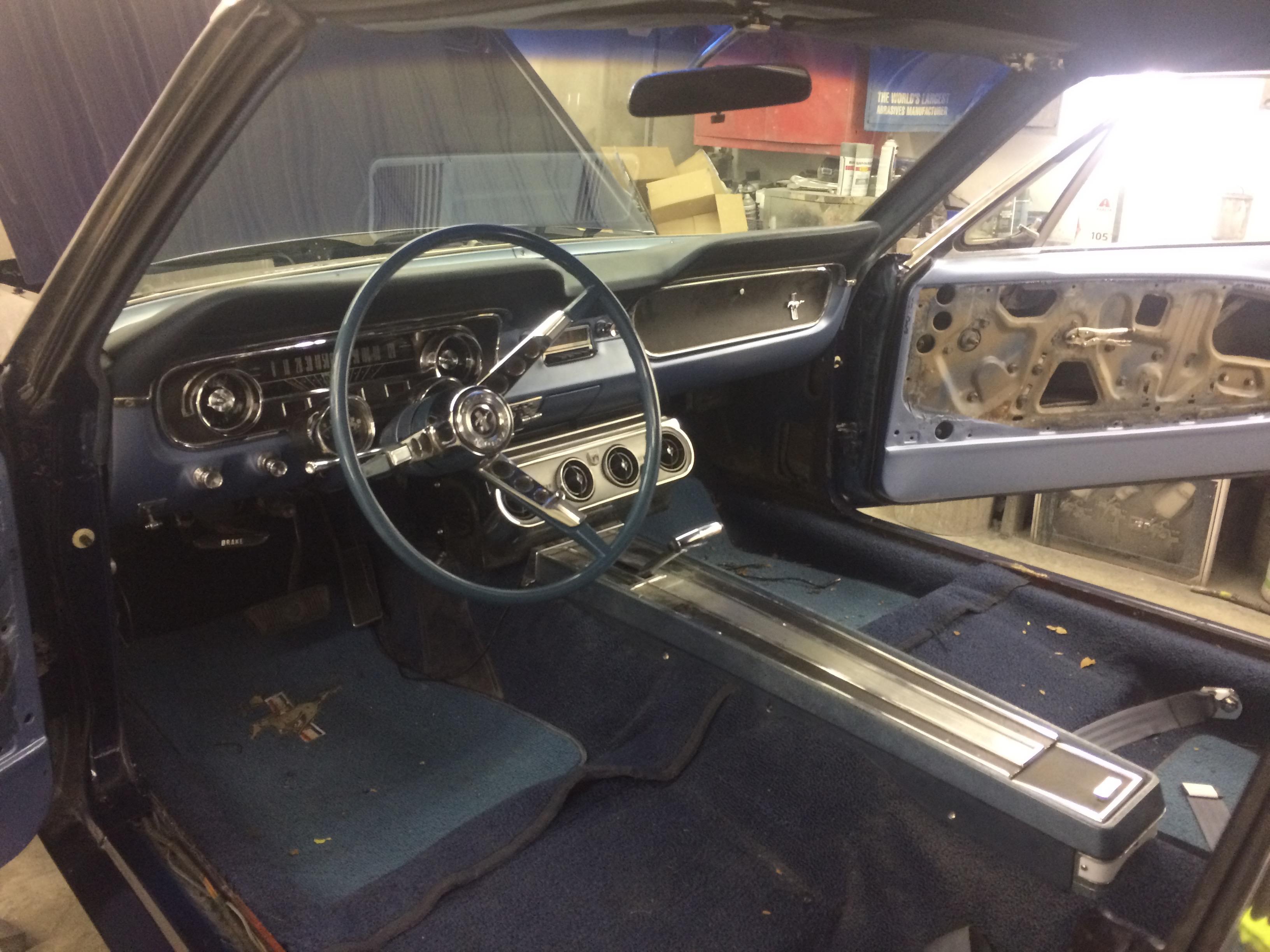 1964 Mustang Restoration