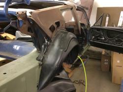 67 Mustang Metal Fabrication