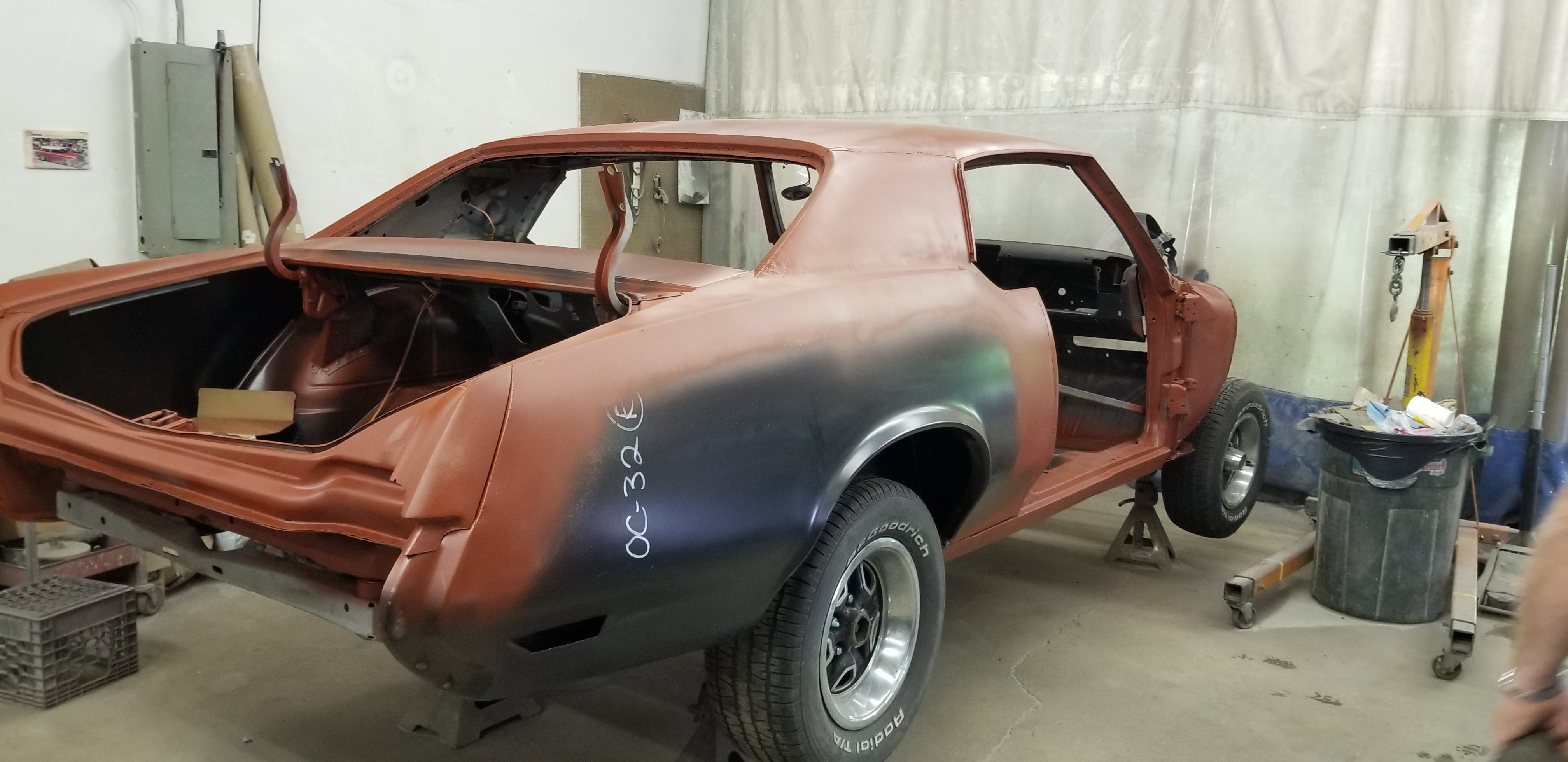 70 Cutlass Restoration
