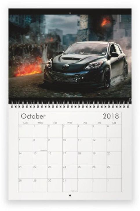 2018 Mazda Calendar