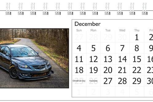 GE3KSPD Mazda DESK Calendar