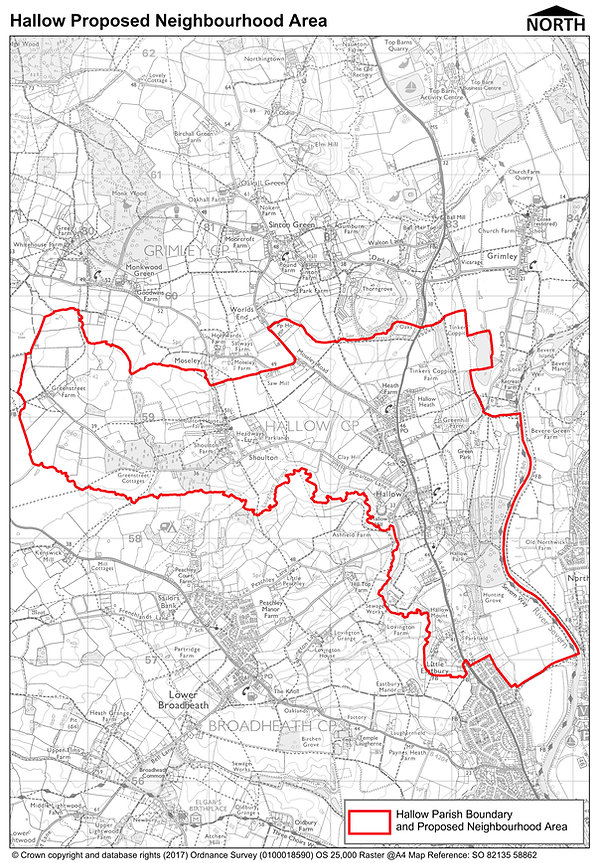 Map Hallow Proposed Neighbourhood Area.j